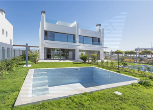 Brand New Semi-detached with private pool and sea views,