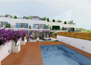 Brand new terraced in Genova with private pool,